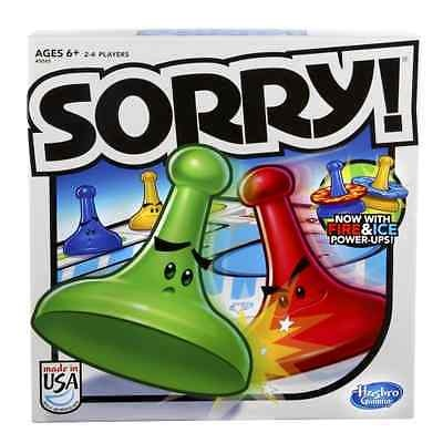 Game Edition Sorry 2013 New Board Family Free Shipping Fun Hasbro free shipping