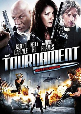 The Tournament DVD NEW [2009 Robert Carlyle]