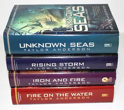 Destroyermen Series by Taylor Anderson Hardcover Set BCE – For Sale