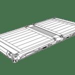 20' Platform Container