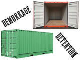 Difference between demurrage and detention