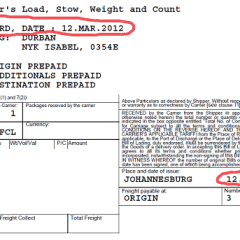 billdate - Should the Shipped on Board Date and Bill of Lading Date be the same..??