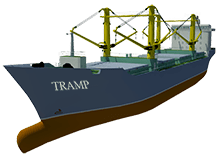 Difference between Liner and Tramp Service