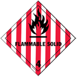 Class 4 Flammable Solid