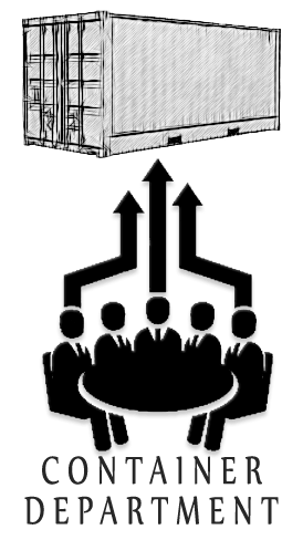 image for container department