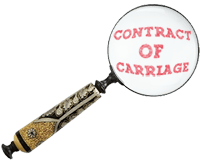 image for evidence of contract of carriage