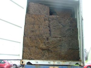 cubed steel wire scrap - Cargo types and packing method in containers