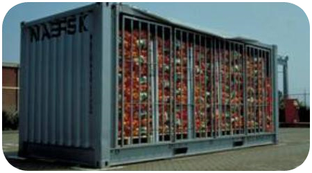 cargo types and packing method in containers. Black Bedroom Furniture Sets. Home Design Ideas