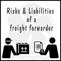 risks and liabilities of a freight forwarder - shipping and freight resources 500th article