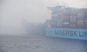 Maersk Honam fire