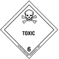 hazardous cargo - toxic - class 6 - shipping and freight resource