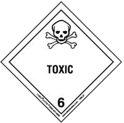hazardous cargo - toxic - class 6 - shipping and freight resource