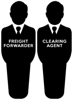 Difference between a freight forwarder and clearing agent