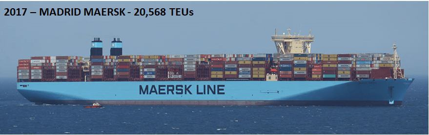 largest container vessel in 2017