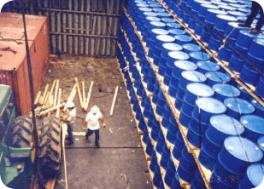 ドラム型貨物-バルクおよびブレークバルク