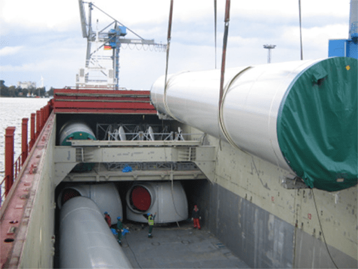 tween deck - break bulk vessel - bulk and break bulk