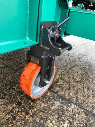 Coldene castors fixed container castor