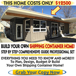 Built your own shipping container home