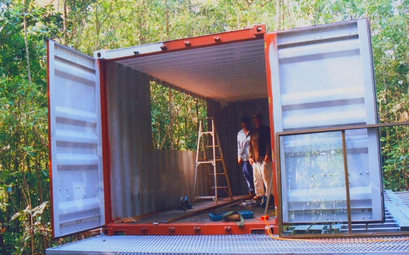Shipping Container Shelter In Australia