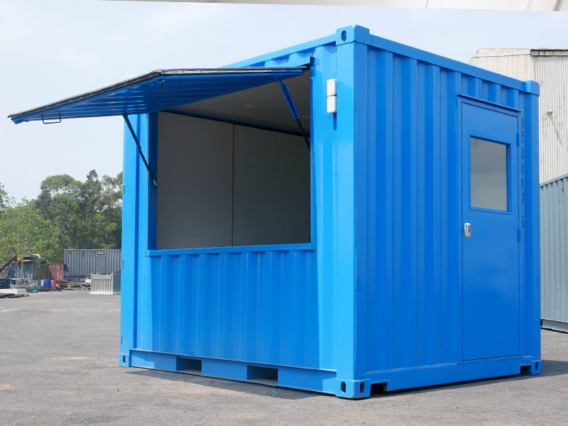 10ft Container Cafe