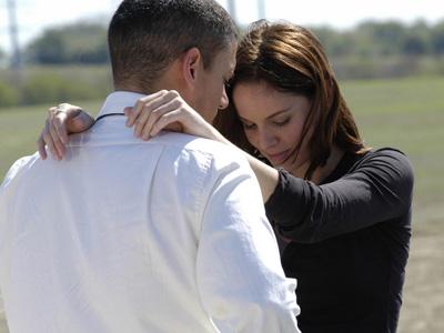 Michael and Sara in Prison Break