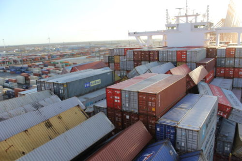 PHOTOS MSC ZOE Loses 270 Containers In Stormy Weather