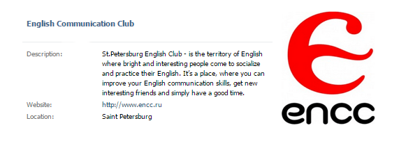 English clubs - make friends in St. Petersburg