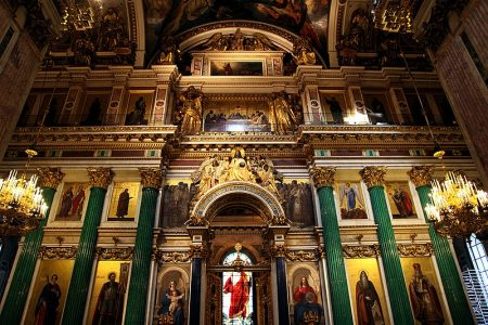 St. Isaac's Cathedral (picture courtesy of saint-petersburg.com)