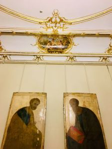 Apostles Peter and Paul at the Russian Museum of art