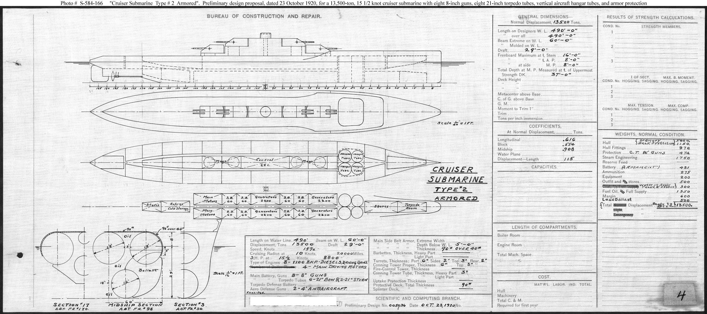 Cold War Submarine Aircraft Carriers Projects
