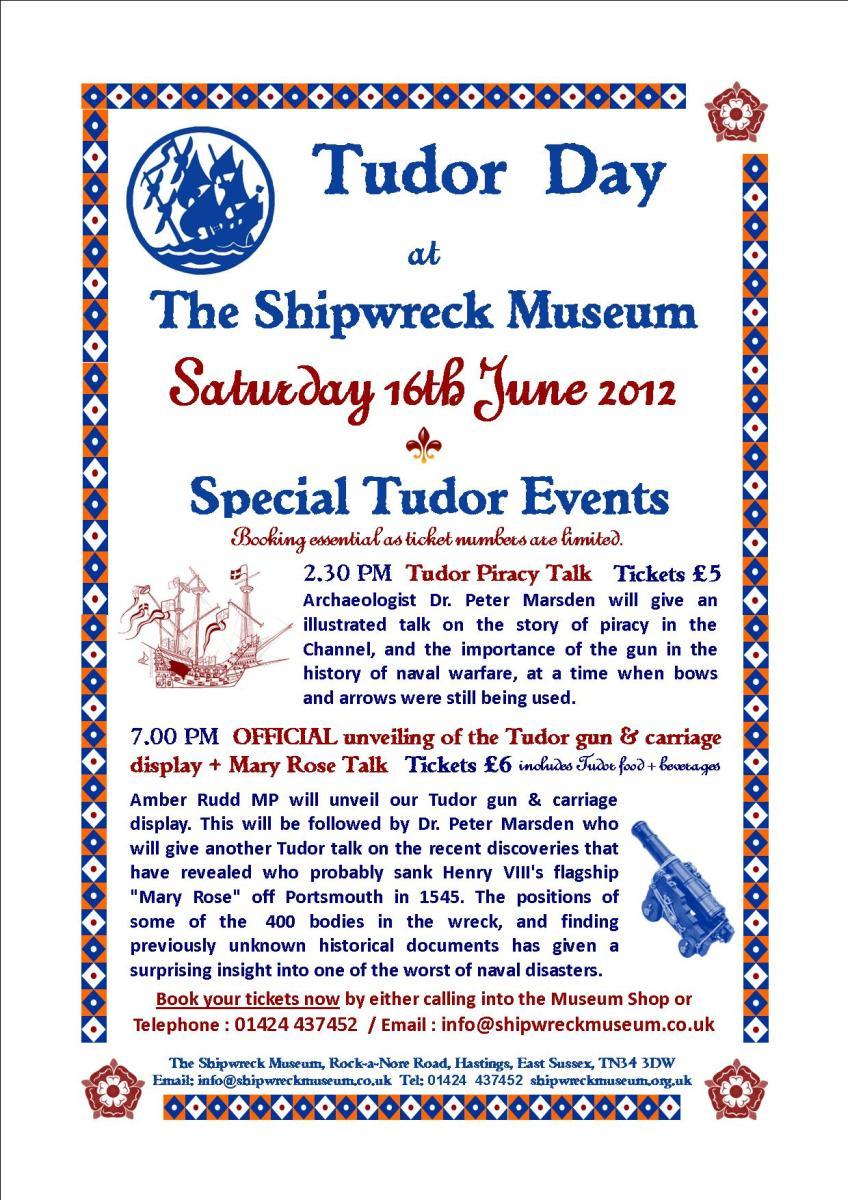 Tudor Event Poster
