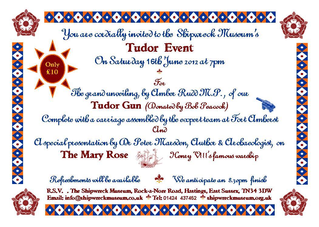 Tudor invite