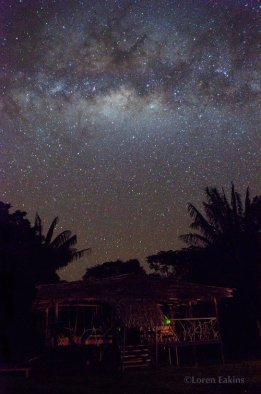 Shiripuno Lodge - The Milky Way can be seen on dark night and watch star with sounds of the forest.