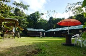 Shiripuno Lodge - Our main lodging facilities with very little impact in the environment.