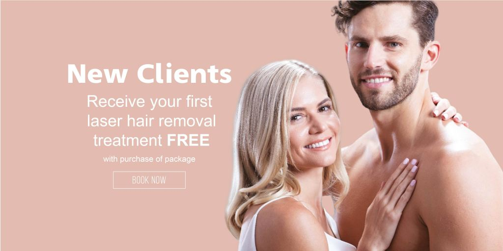 New Client Laser Hair Removal promo