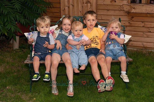 fun children photoshoots by Shiralee Swan Photography