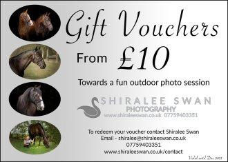 Shiralee Swan Photoshoot Gift Voucher