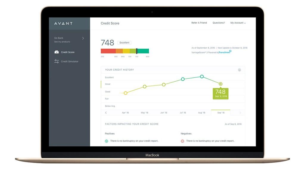 Parsa Shirazi-Avant-customer engagement-credit score tracking