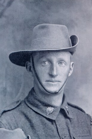 Private P D Boddy, courtesy Yarram & District Historical Society