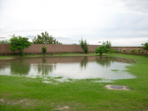 awc back yard water