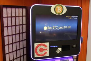 Crypto Vending Machine at the Bitcoin Embassy in Keene, NH