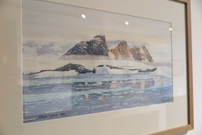 Painting of Arctic Circle