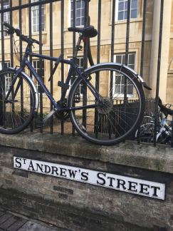 Bicycles in Cambridge City Centre