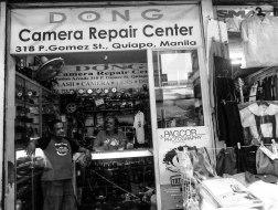 The hole in the wall repair shop along P. Gomez Street, Quiapo, Manila