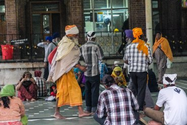 Inside the world's largest community kitchen. The Golden Temple langar feeds approximately 100,000 people daily- regardless of race, religion or creed. Amritsar, India November 2015