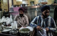 The Dhaba is a name given to an Indian roadside restaurant. Punjab is a haven for them. Some establishments go as far back as the early 20th century- everything served fresh and piping hot. Saag, kulchas, biryanis, chole, tandoori rotis, chicken to naan...the choices are endless. The bustling city of Amritsar, maddening beeps and psychotic driving will lead you from one food stall to another. Each with its own specialties. It is a constant search for the next heart clogging chilli infused fix- addictive like a drug. Beera's November 2015.