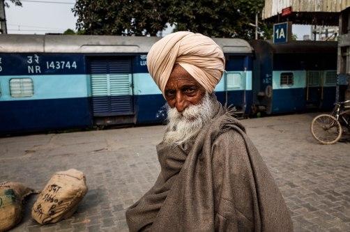 Sardar Ji, Amritsar Railway Station