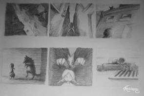Storyboard Little Red Riding Hood