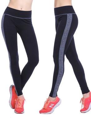 Womens High Waist High Flex Workout Legging Soft Yoga Sports Dance Pants