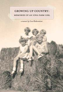 Cover of Growing Up Country by Carol Bodensteiner